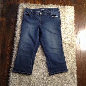 Lane Bryant Capri Jeans Size 18